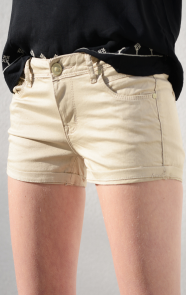 Denim-Short-beige