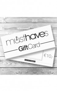 Musthave Giftcard €10