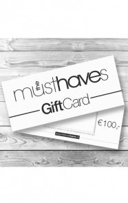 Musthave Giftcard €100