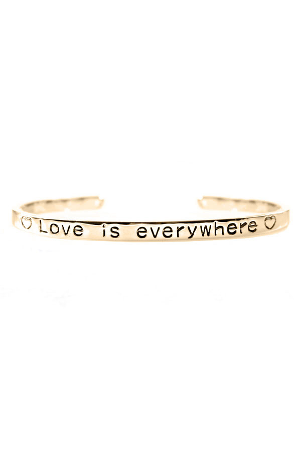 Love-Is-Everywhere-Goud-Armband