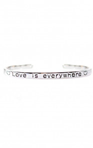 Love-Is-Everywhere-Zilver-Armband