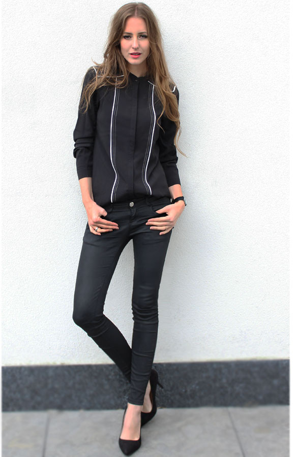 Zwarte-Musthave-Blouse