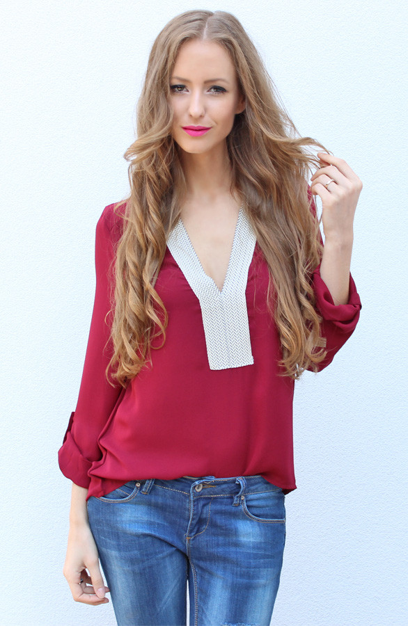 Bordeaux-blouse-dames