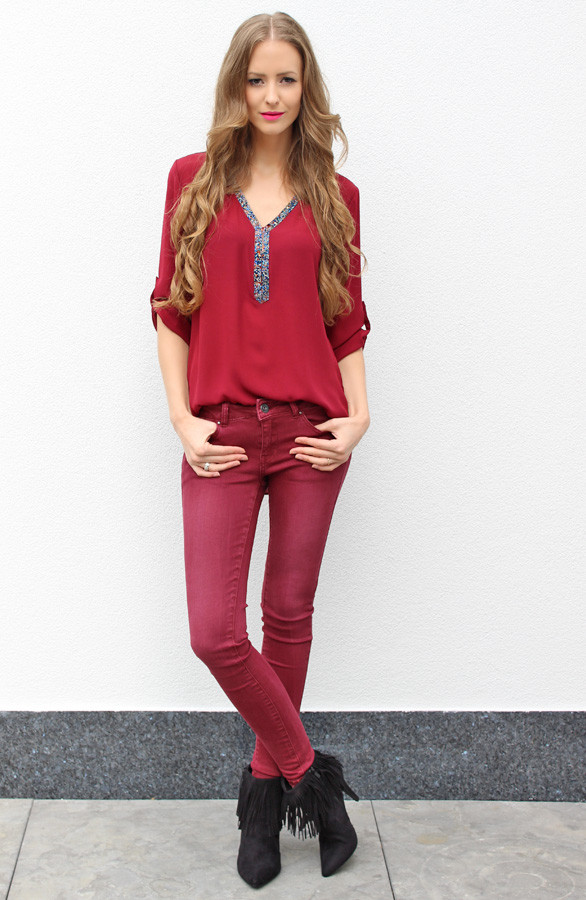 blouse-online-trends-rood