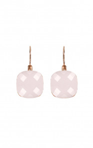 Crystal Oorbellen Powder Pink