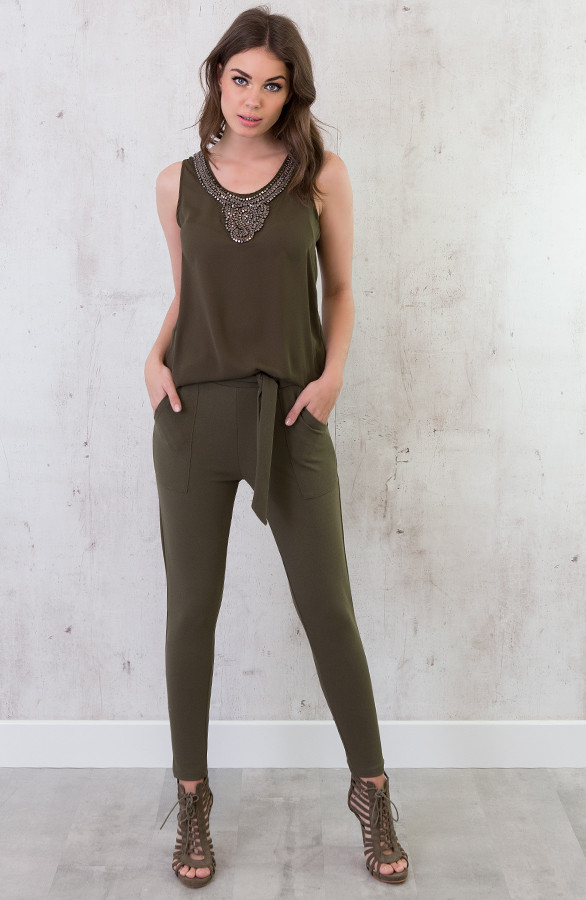 stretch-pantalon-legergroen