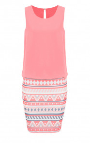 Springbreak Dress Coral 3.0
