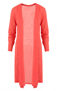 Long Cardigan Lover Coral