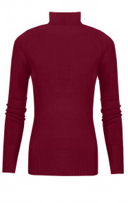 Coll Sweater Jersey Bordeaux