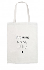 Canvas Quote Bag