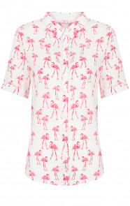 Flamingo Top Pink