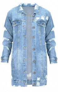 Long Denim Jacket 2.0