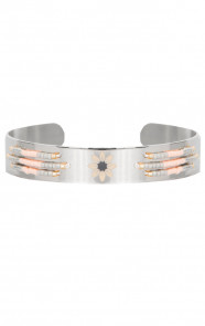 Peachy Stainless Bracelet Silver