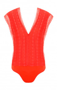 Secret Lace Body Coral
