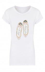 Ballerina It Shirt Wit