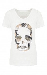 Camouflage Skull Top