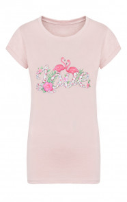 Flamingo Love It Shirt Roze