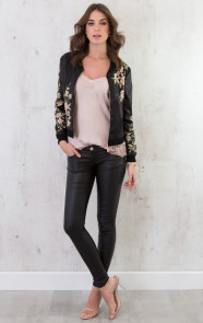 Exclusive Flowerly Bomber Jacket