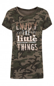 Camouflage It Shirt Army