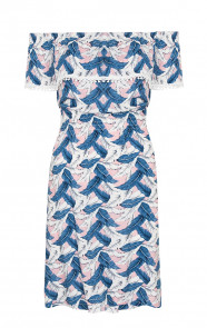 Feather Tropicana Dress