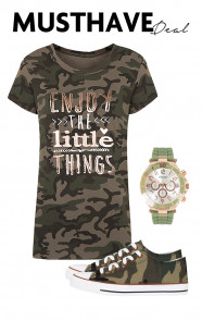 Musthave Deal Camouflage Love