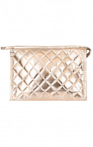 Make-up Tas Metallic Goud