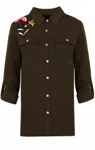 Patches Army Blouse