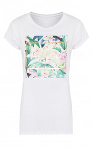Tropical Love Shirt Wit