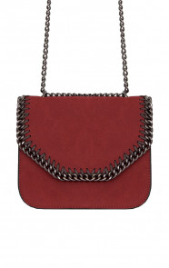 Wanted Chain Bag Bordeaux