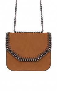 Wanted Chain Bag Cognac