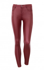 Coating Jeans Bordeaux