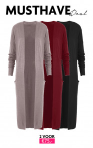 Musthave Deal Long Jersey Cardigans