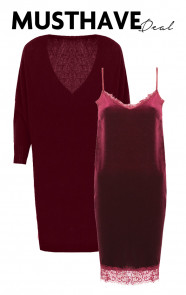 Musthave Deal Velvet Bordeaux