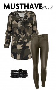 Musthave Deal Coated Military