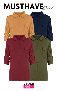 Musthave Deal Pocket Blouses