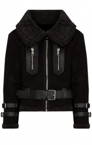 Lammy Coat Winter Zwart