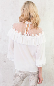 Luxury-Marant-Blouse-White