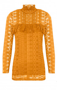 Most Wanted Lace Sleeve Oker