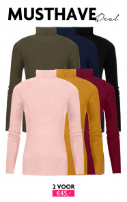 Musthave Deal Coll Sweater Jersey