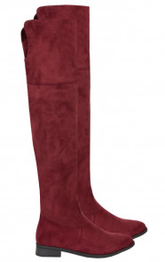 Overknee Laarzen Limited Bordeaux