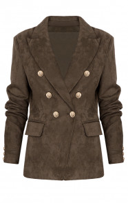 Suedine Blazer Exclusive Army