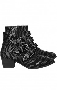 Zebra Buckle Boots Limited