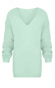 Fluffy Oversized Trui Mint