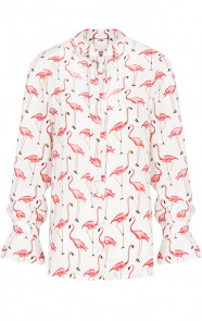 Flamingo-Blouse-Creme