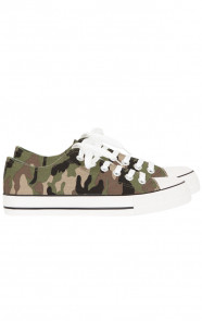 Canvas Sneakers Camouflage
