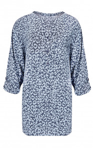 Panter-Blouse-Oversized-Blauw