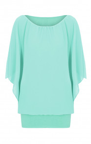 Basic-Oversized-Tuniek-Mint