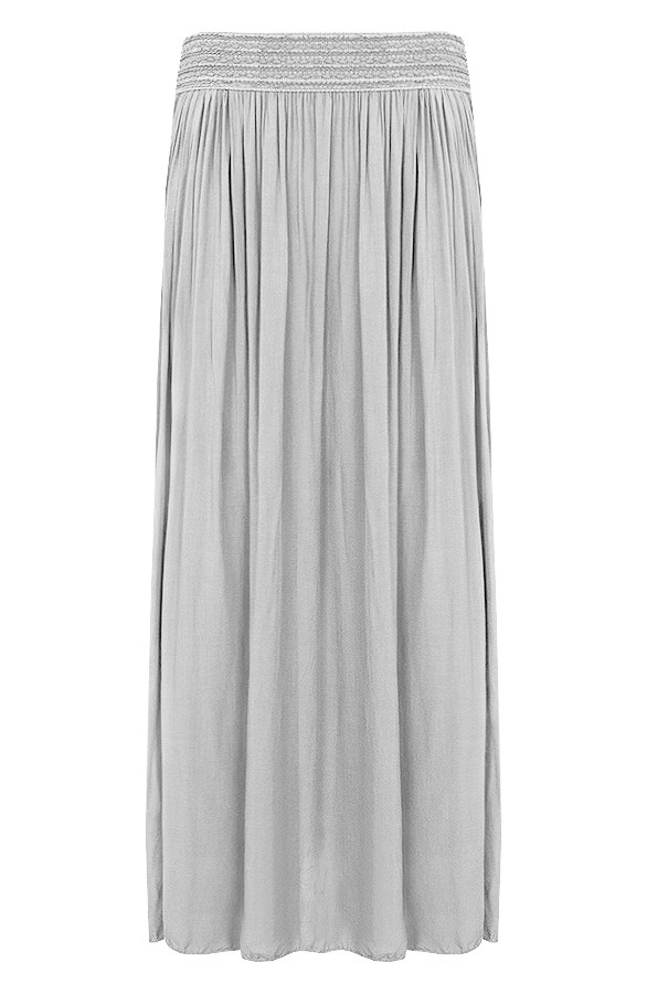 Beroemd Maxi Rok Grijs | Themusthaves.nl &VI07