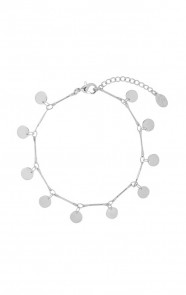 Coins-Armband-Zilver