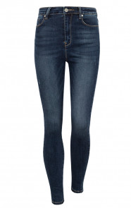 Dark-High-Waisted-Skinny-Jeans